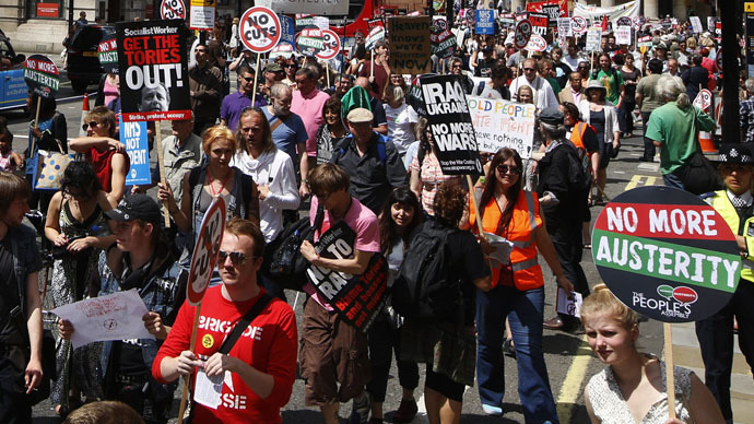 Strike against austerity: Thousands of workers across N Ireland defy Tory cuts