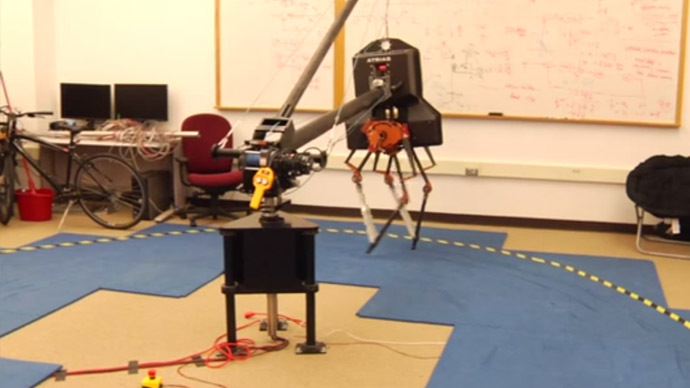 First dogs, now birds: Meet DARPA's new robot breakthrough (VIDEO)