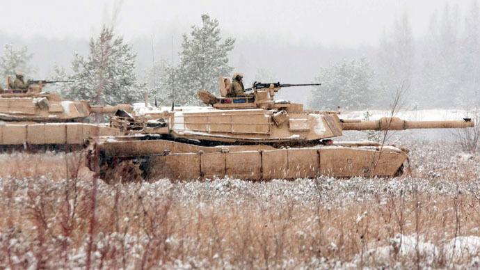 Drill spree: NATO tanks arrive for military exercise in Estonia