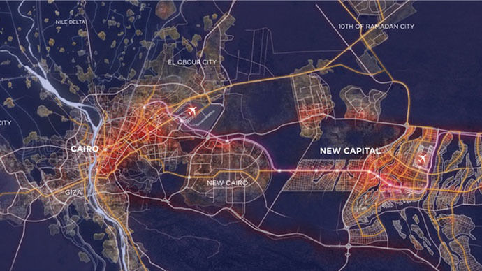 Egypt unveils blueprints for new $45bn capital city