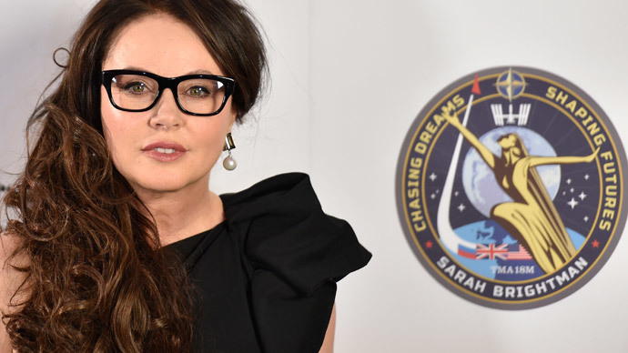 Sarah Brightman to RT: 'I want to sing beautifully on ISS – despite space mucus'