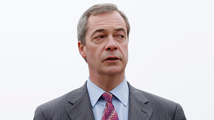 ​'Curtains' for Farage? UKIP leader pledges to quit if he fails to become MP