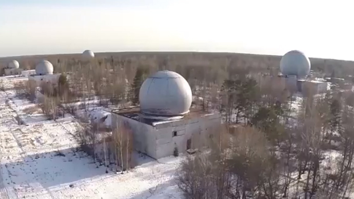 Deactivated Russian missile defense facility caught on drone camera (VIDEO)