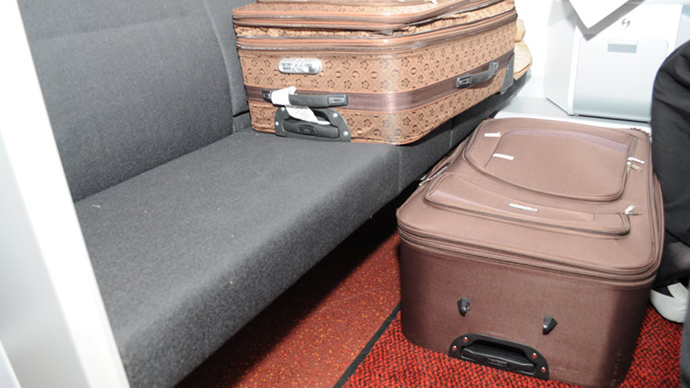 'And this is my wife!': Frenchman stopped at border after smuggling Russian spouse in suitcase