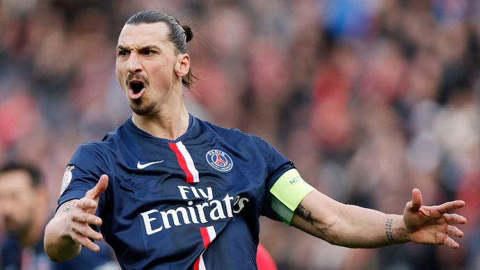 Zlatan Ibrahimovic.(Reuters / Christian Hartmann)