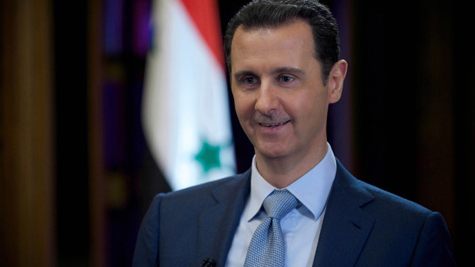 Syrian president waits 'actions' from US to back declarations of potential dialogue