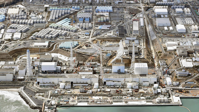 General aerial view of Tokyo Electric Power Co. (TEPCO)'s tsunami-crippled Fukushima Daiichi nuclear power plant in Fukushima prefecture (Reuters / Kyodo)