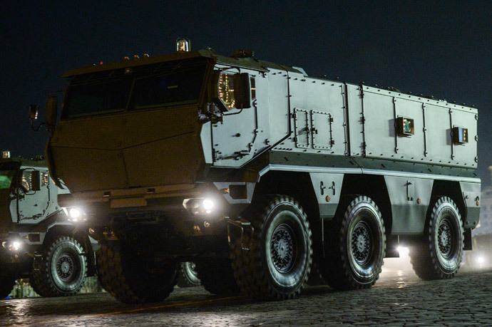 A state-of-the-art Iskander-M short-range tactical missile system (RIA Novosti / Alexander Vilf)