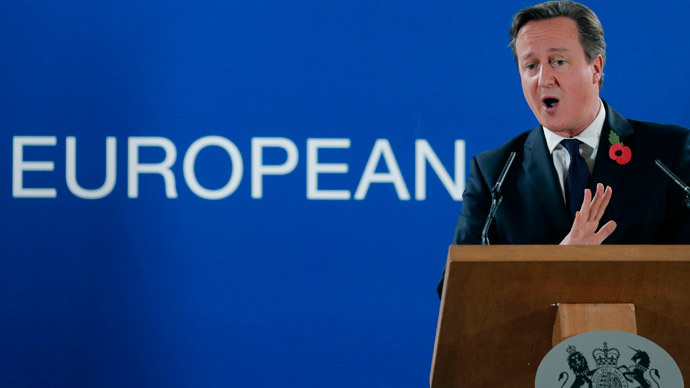 In/out EU referendum 'unlikely' in 2015 – Cameron