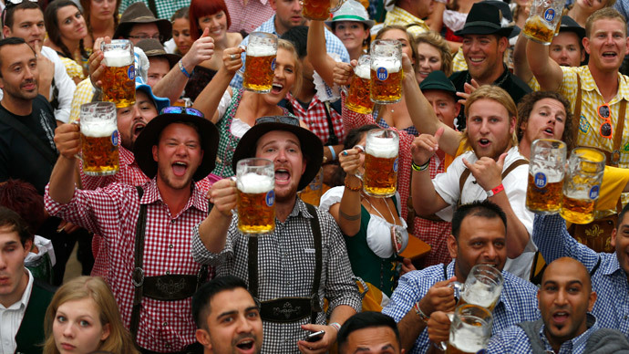 1.2 million liters of beer 'underreported' in Oktoberfest
