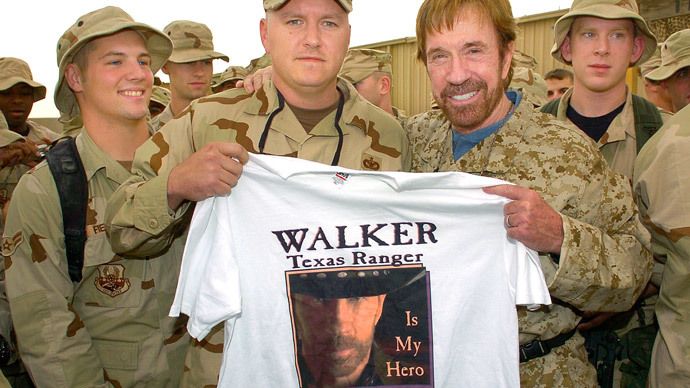 Chuck Norris says: 'Vote for Netanyahu to save US from evil forces'