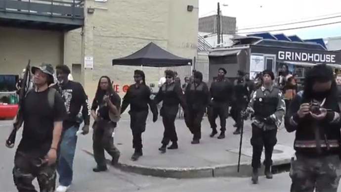 New Black Panther Party wants to 'arm every US black male'