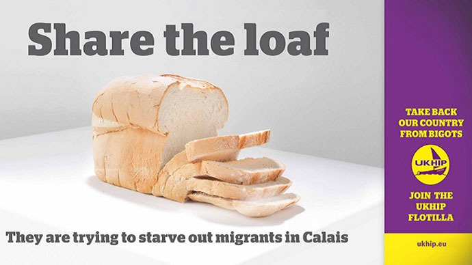 UKHIP: Pro-immigrant group plans humanitarian 'D-Day style flotilla' to Calais