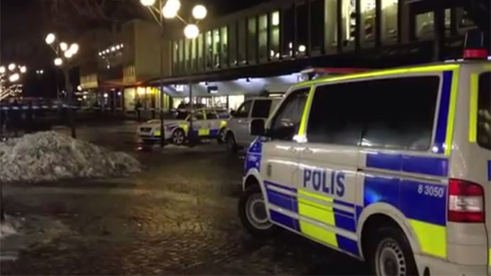 Gunmen storm Swedish bar during football match, killing at least 2