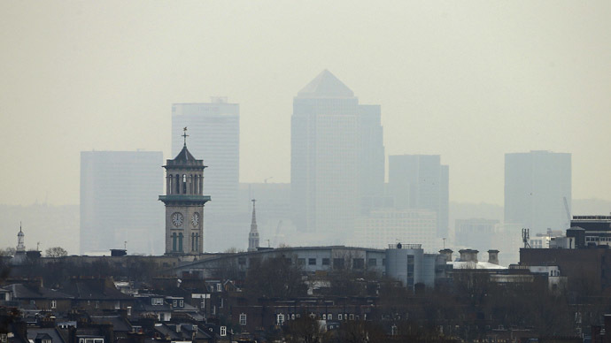 Lethal smog: Pollution cloud hangs over Britain, sparks health warning