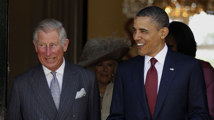 ​Obama & Prince Charles in US talks, MidEast likely to top agenda