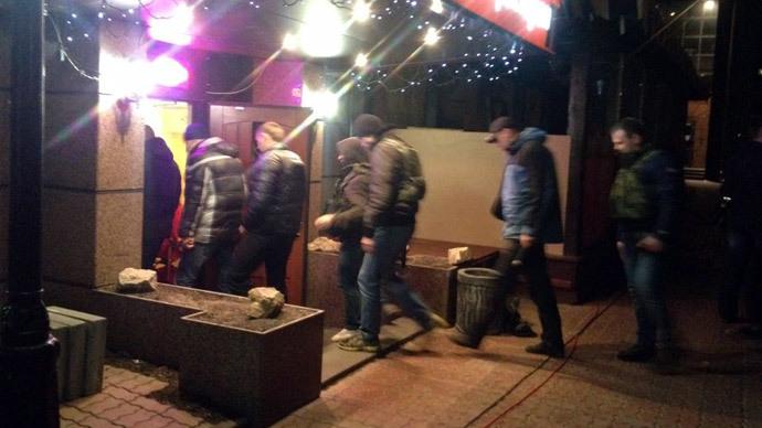 Oligarch governor raids oil company HQ in Kiev
