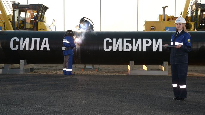 Russian govt approves eastern route for gas supplies to China