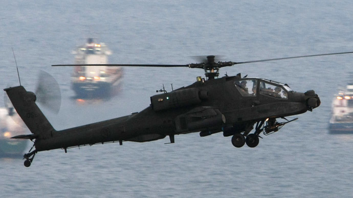 Heli-flop-ter: Britain mothballs costly Apache helicopters after brief Afghan, Libyan service