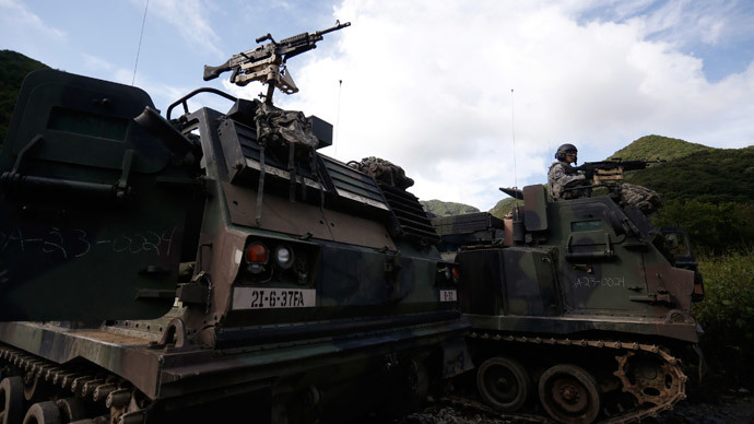 ​US deploys extra 400-strong artillery unit to South Korea