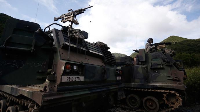 US deploys extra 400-strong artillery unit to South Korea
