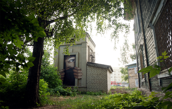 'The living walls': Russian artist breathes life into abandoned & shabby buildings (PHOTOS) — RT World News