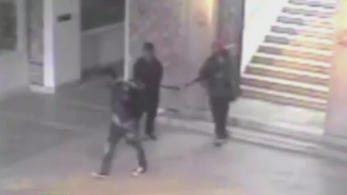Manhunt for third suspect in Tunisia as CCTV footage of Bardo museum attack emerges