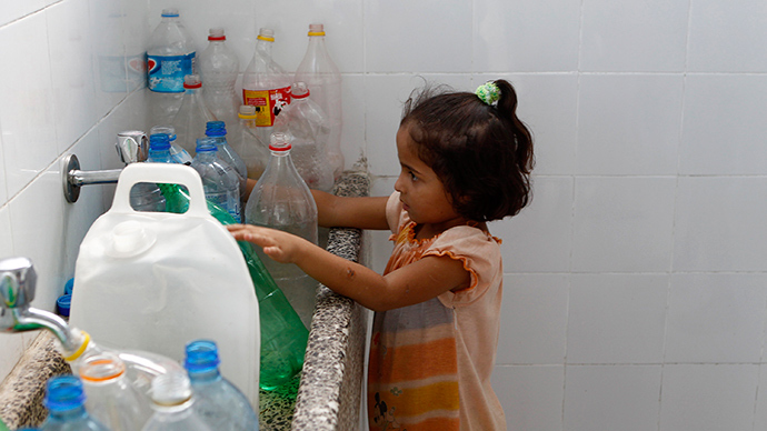 ​Palestinians accuse Israel of 'unfair distribution' on World Water Day