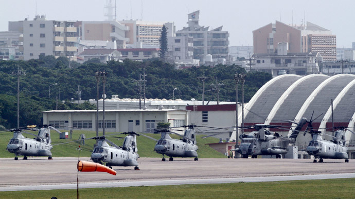 ​Anti-base Okinawa governor blocks relocation of US Marines