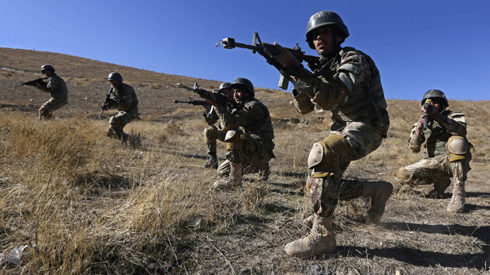 Afghan National Army (ANA) soldiers (Reuters/Omar Sobhani)