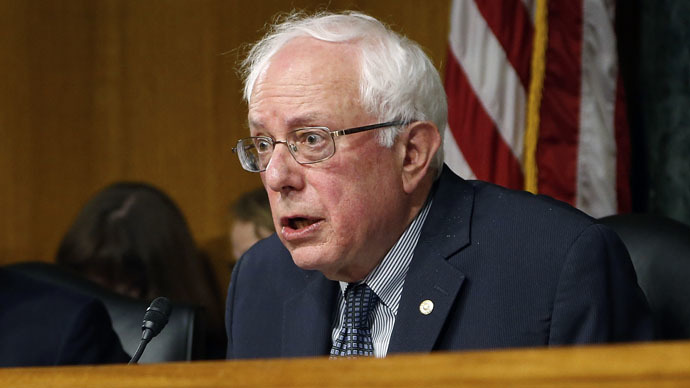 Bernie Sanders to propose 'war tax' amendment to GOP budget that's bad for middle class