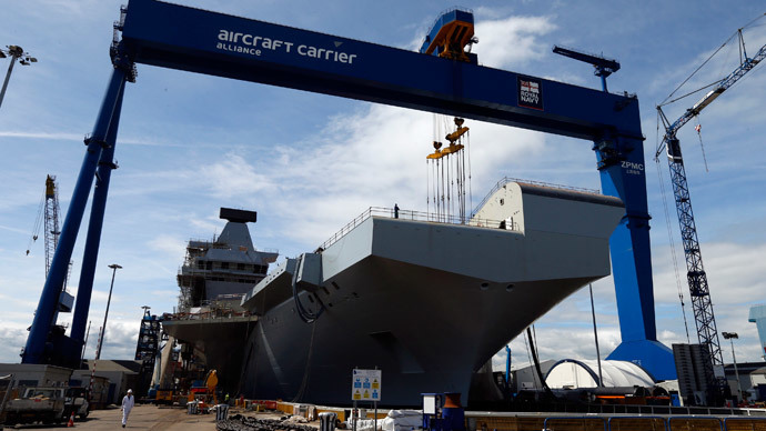 Aircraft-less carriers: No point in new Navy vessel if no jets supplied, MPs warn