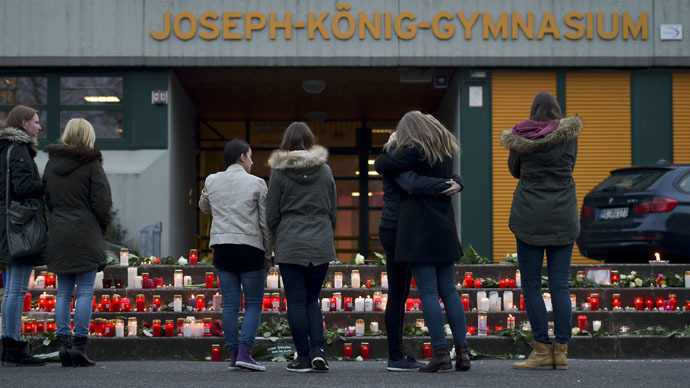 'Darkest day': German school mourns class wiped out in air crash