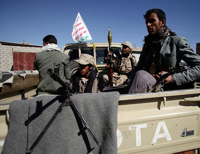 Houthi militants (Reuters / Mohamed al-Sayaghi)