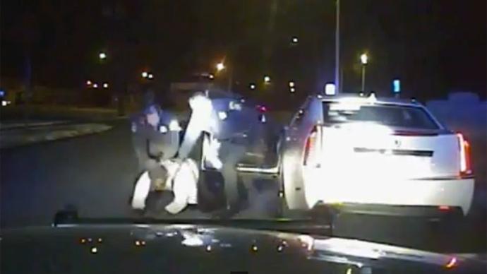 'Please, I can't breathe:' Unarmed black man beaten by Michigan cops in arrest video