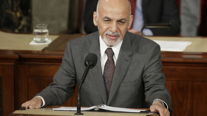 Sorry, what? Afghan president says time to apologize to Taliban