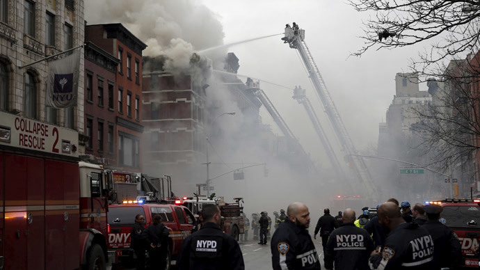 2 missing after explosion & fire in Manhattan's trendy East Village