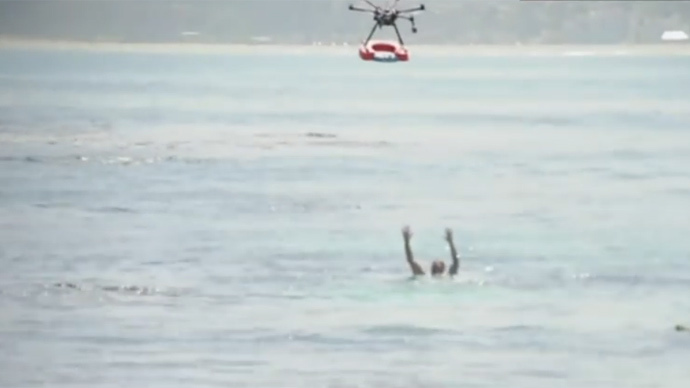 Lifesaver drones could help rescue wayward swimmers in 30 seconds