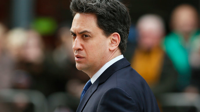 Labour's Ed Miliband tops polls as favorite for prime minister