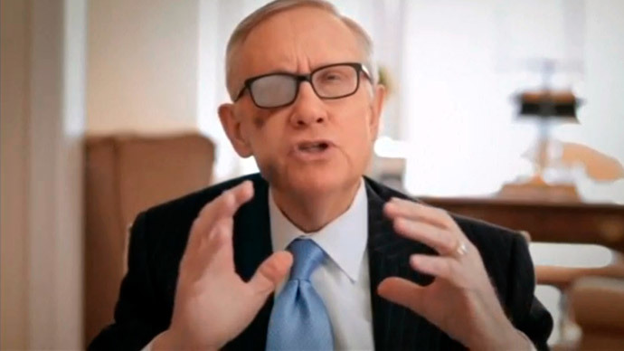 Harry Reid hangs up his 'rusty spurs' as Senate minority leader