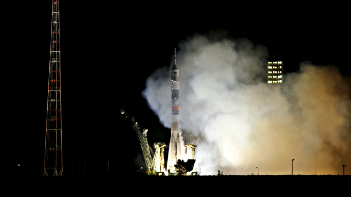 Russia-US crew dock at ISS for near year-long mission