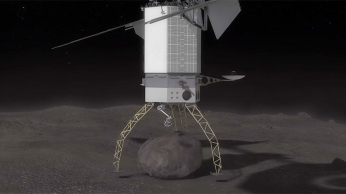 NASA aims to pluck boulder off asteroid & bring it to moon (VIDEOS)
