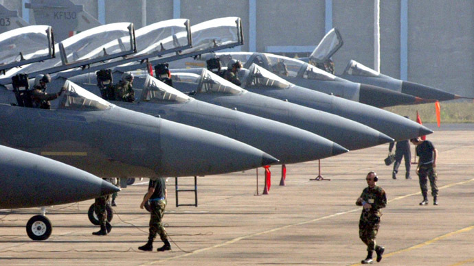 ​US National Guard sends 12 F-15 interceptor jets to Europe to guard against Russia
