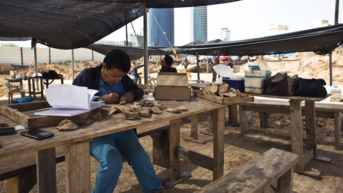 Russian archaeologists excavate 'White Walls' of ancient Egyptian capital Memphis