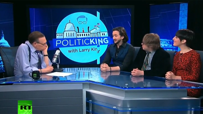 Can comedy show support indie journalism? Larry King talks to RT's 'Redacted Tonight'