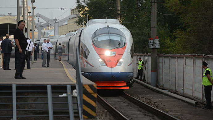 China may invest $5.2bn in Russia's first high speed railway