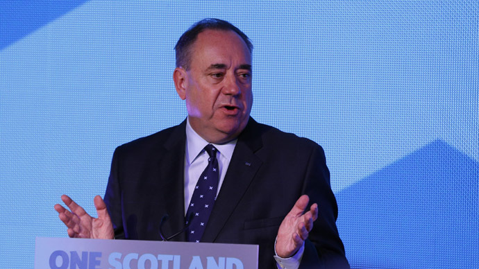 'Biased' BBC should be devolved to Scotland, says Salmond