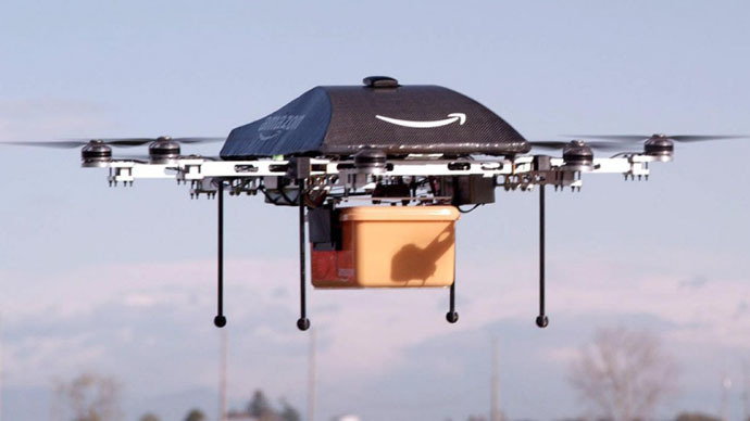 Amazon test-drives delivery drones in Canada, bypassing tight US regulation