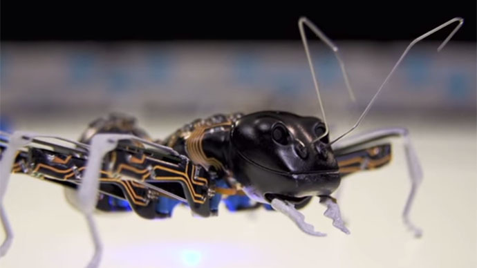 Insects, lizard tongue inspire robots of the future