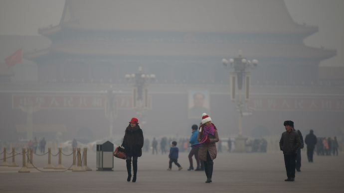 Red alert: Beijing partially bans traffic on heavy pollution days